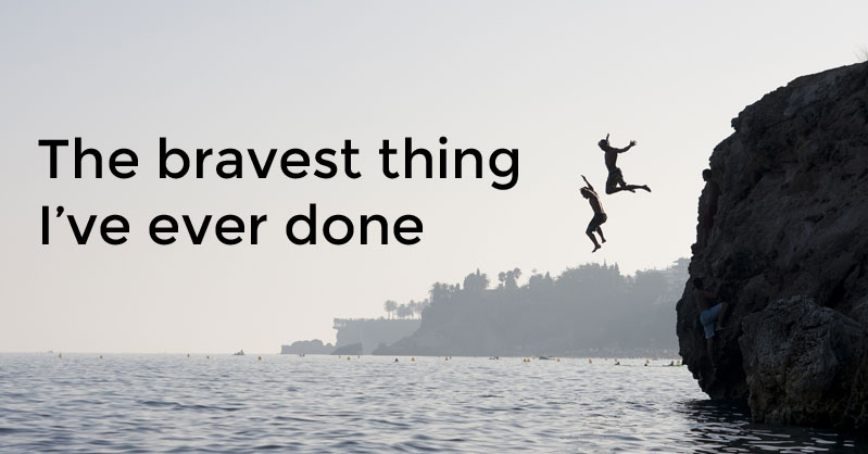 Bravest Chicken Ever: The Bravest Thing I've Ever Done